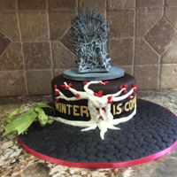 Game Of Thrones My daughters Game Of Thrones birthday cake.