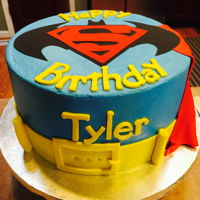 Happy 8Th Birthday Tyler! Batman vs Superman