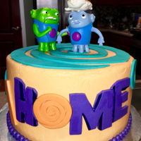 Home For Johnathon's 1St Birthday Boov is home