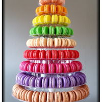 Macarontower Macarontower with different tastes:CherryPeachOrangeLemonPistacheMoccaRasberryStrawberryForest FruitSalted Caramel
