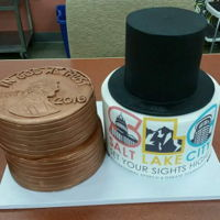 National Lincoln Douglas High School Debate Tournament Cake Our city hosted the national Lincoln Douglas high school debate tournament this year. It's tradition to present the judges with...