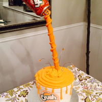 Orange Crush   Orange Crush cake
