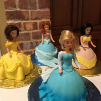 Princess Cakes Princess cakes for my granddaughter...she loved them!