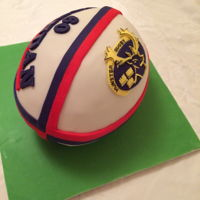 Rugby Ball Cake Munster Rugby Ball Cake