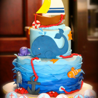 Sail Away Lil One... Stephanie's baby shower