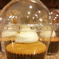 Snickerdoodle Cupcake Snickerdoodle Cupcake-a light spice cake with sugar/cinnamon sprinkle