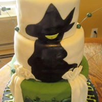 The Wicked I have never seen this play. I based this cake design on an image my customer sent to me. Plus I added some of my own imagination. I made...