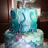 Under The Sea... All fondant decorations