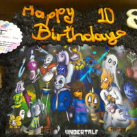 Undertale Cupcakes 28 pcs., milky way chocolate cupcakes with cream cheese, milkyway caramel and chocolate filling with buttercream cover and edible sugar...