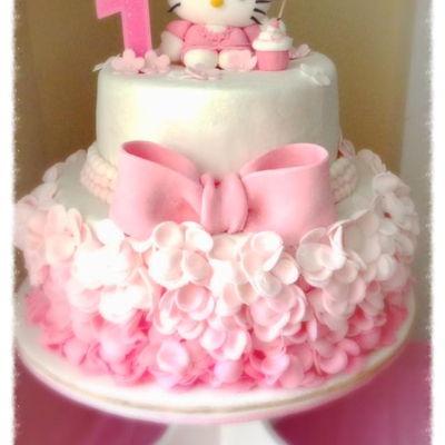 Hello Kitty Cake Decorating Photos