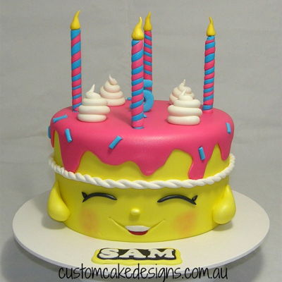 Shopkins Wishes Cake
