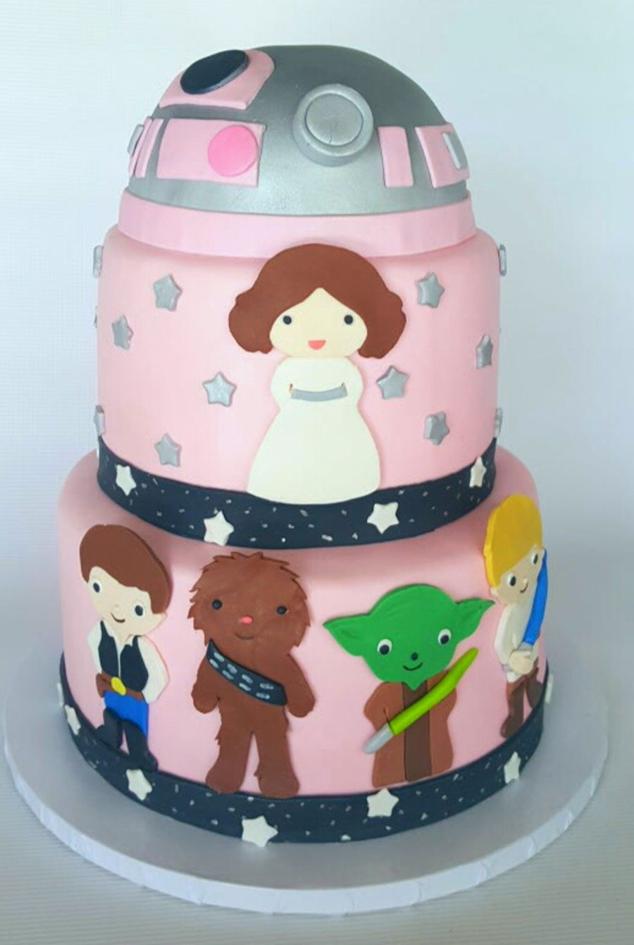 Star Wars Birthday Cakes Photo Gallery