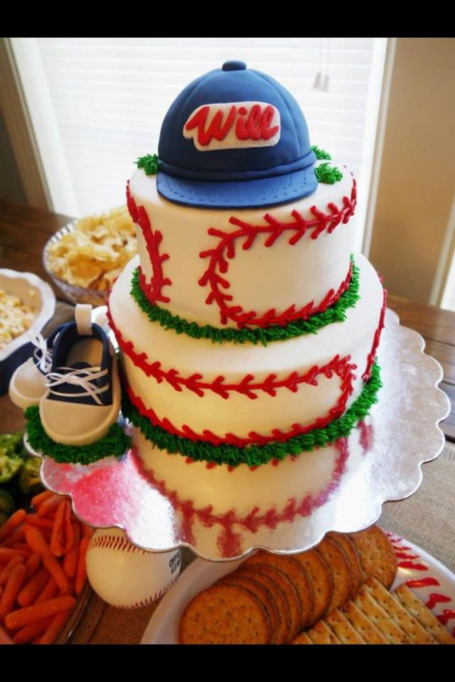 baseball baby shower on cake central