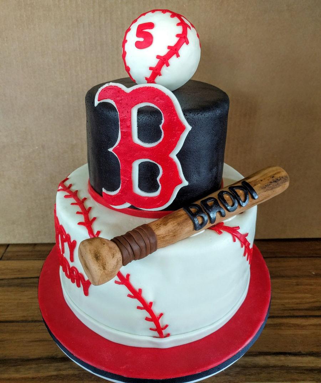 Baseball Cake - CakeCentral.com