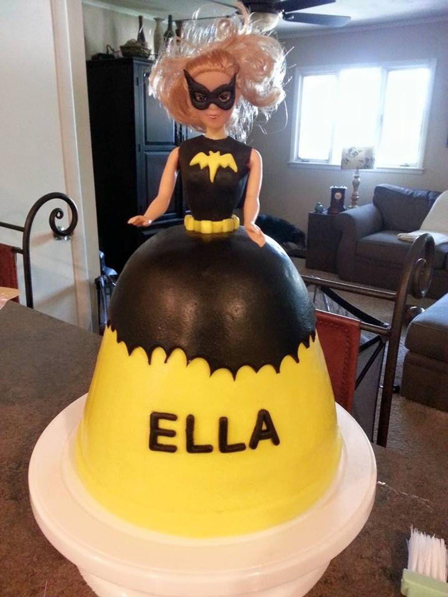 Batgirl Cake Cakecentral Com