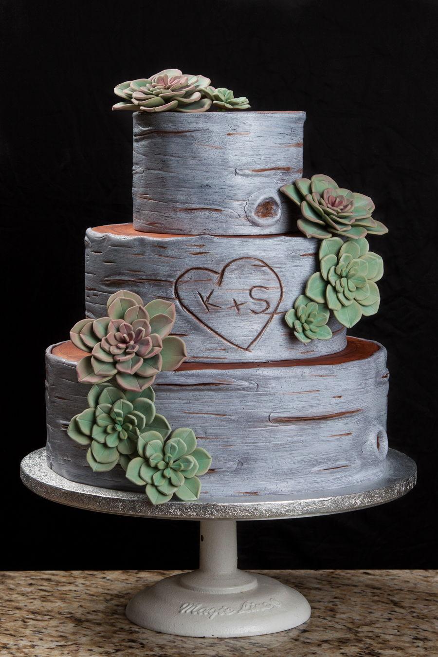 birch wedding cake. Black Bedroom Furniture Sets. Home Design Ideas