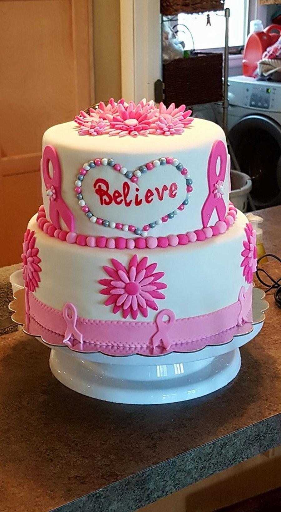 Cancer Free Cake