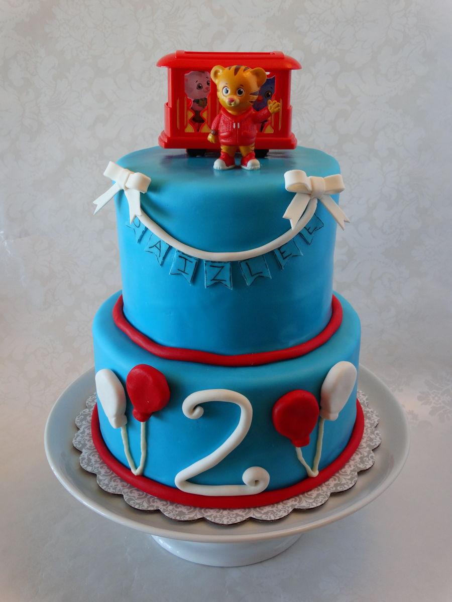 Daniel Tiger Cake Cakecentral Com