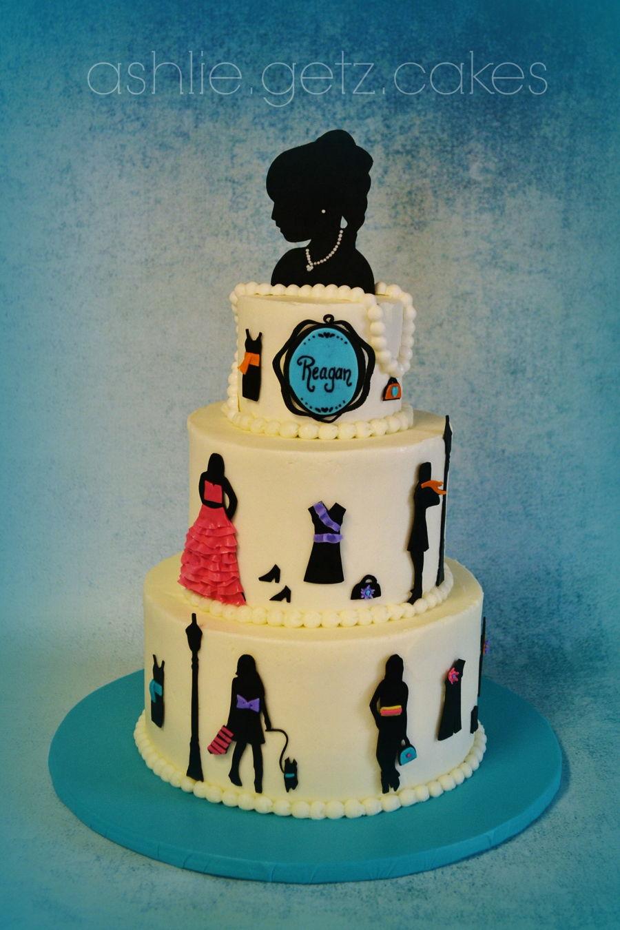 Fashion Cake Cakecentral Com