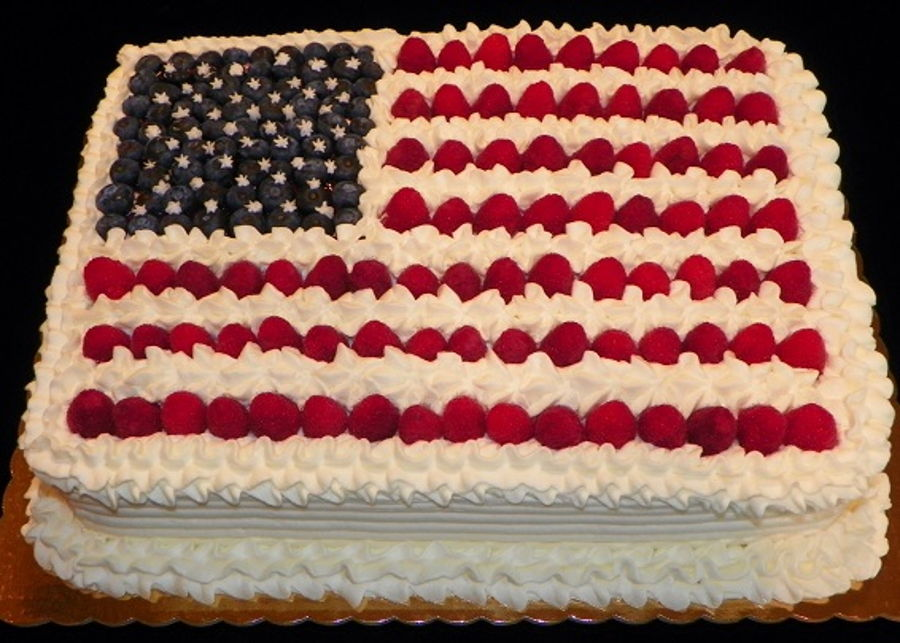 Happy Independence Day on Cake Central