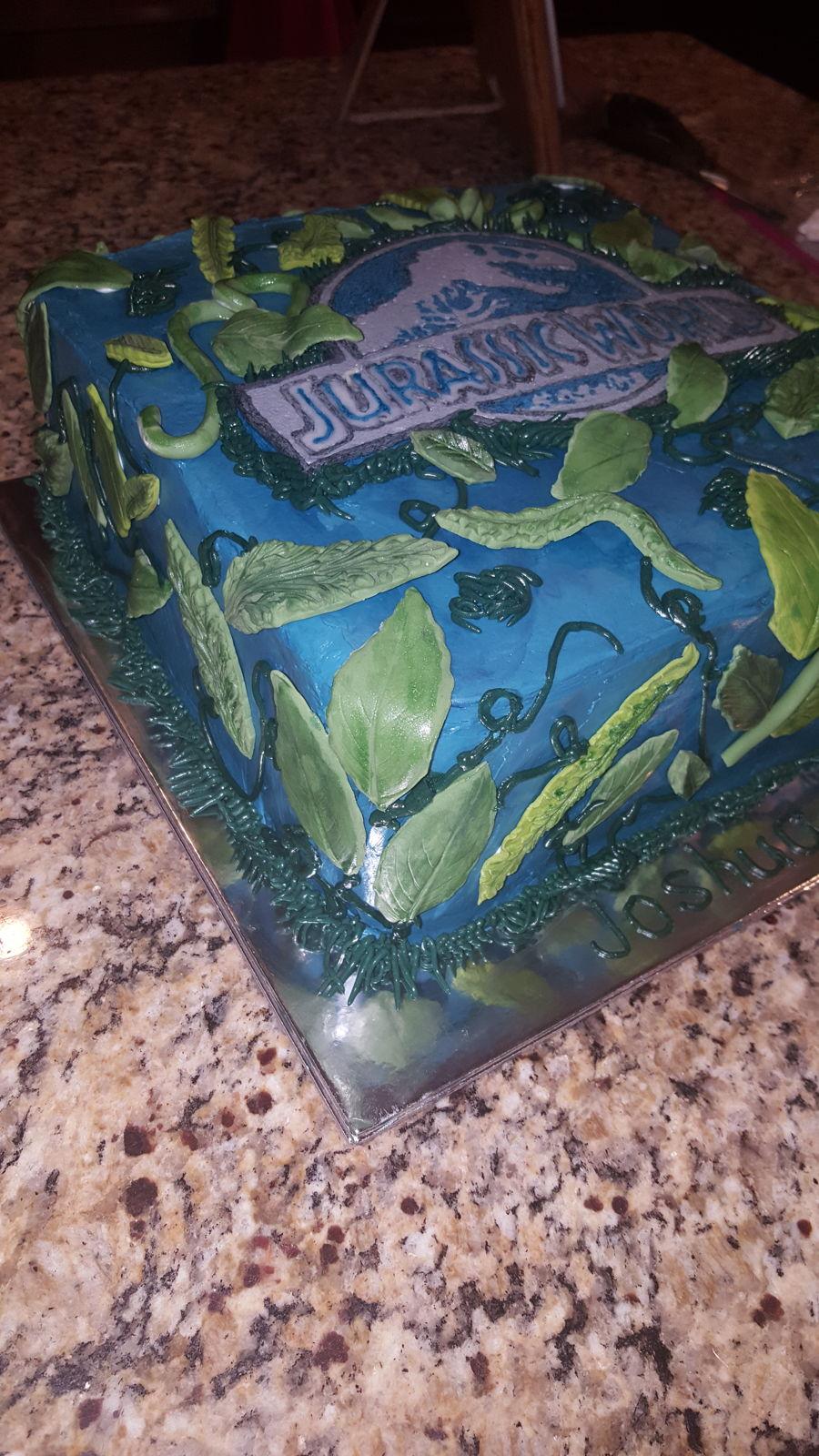 Jurassic World Cake - CakeCentral.com