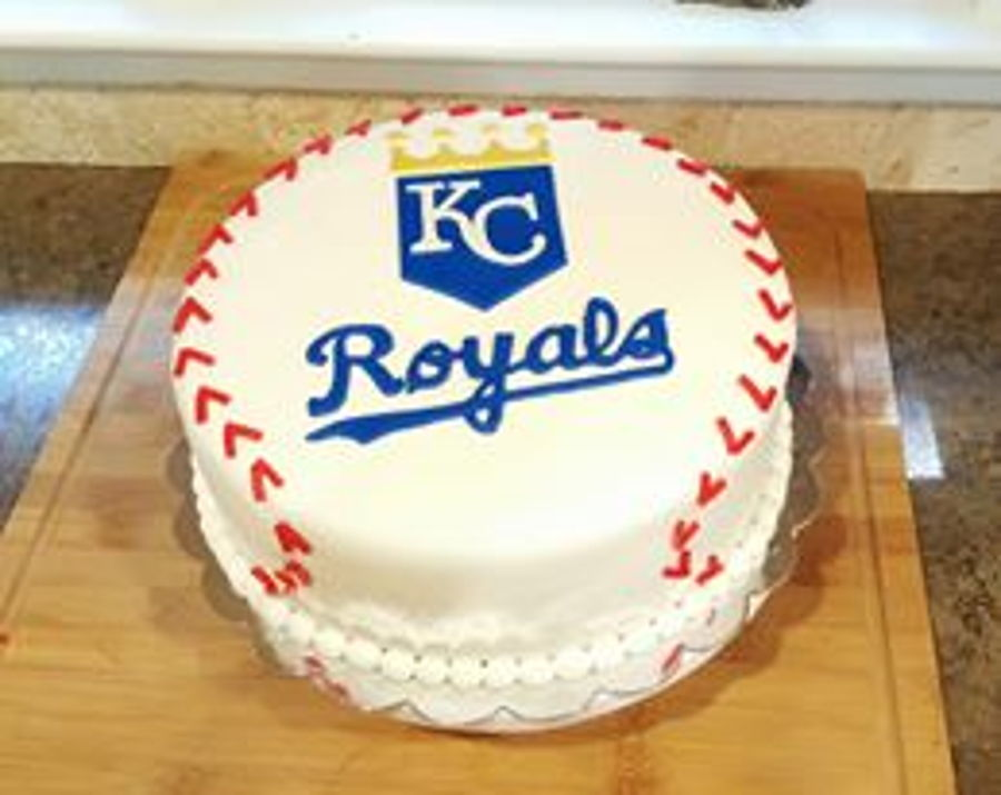 Kansas City Royals Cake CakeCentralcom