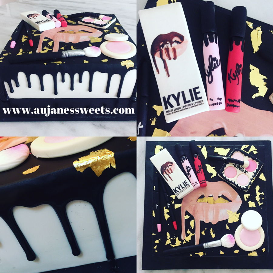 Kylie Lipkit Make Up Cake Cakecentral Com