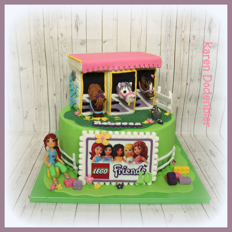 Lego Friend With Horses Cakecentral Com