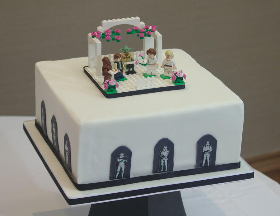 Lego Star Wars Groom S Cake Cakecentral Com