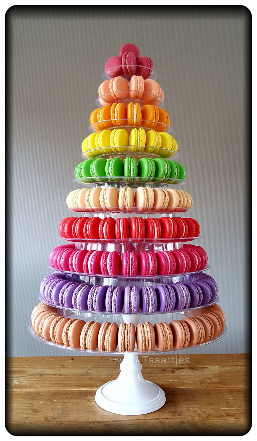 Macarontower on Cake Central
