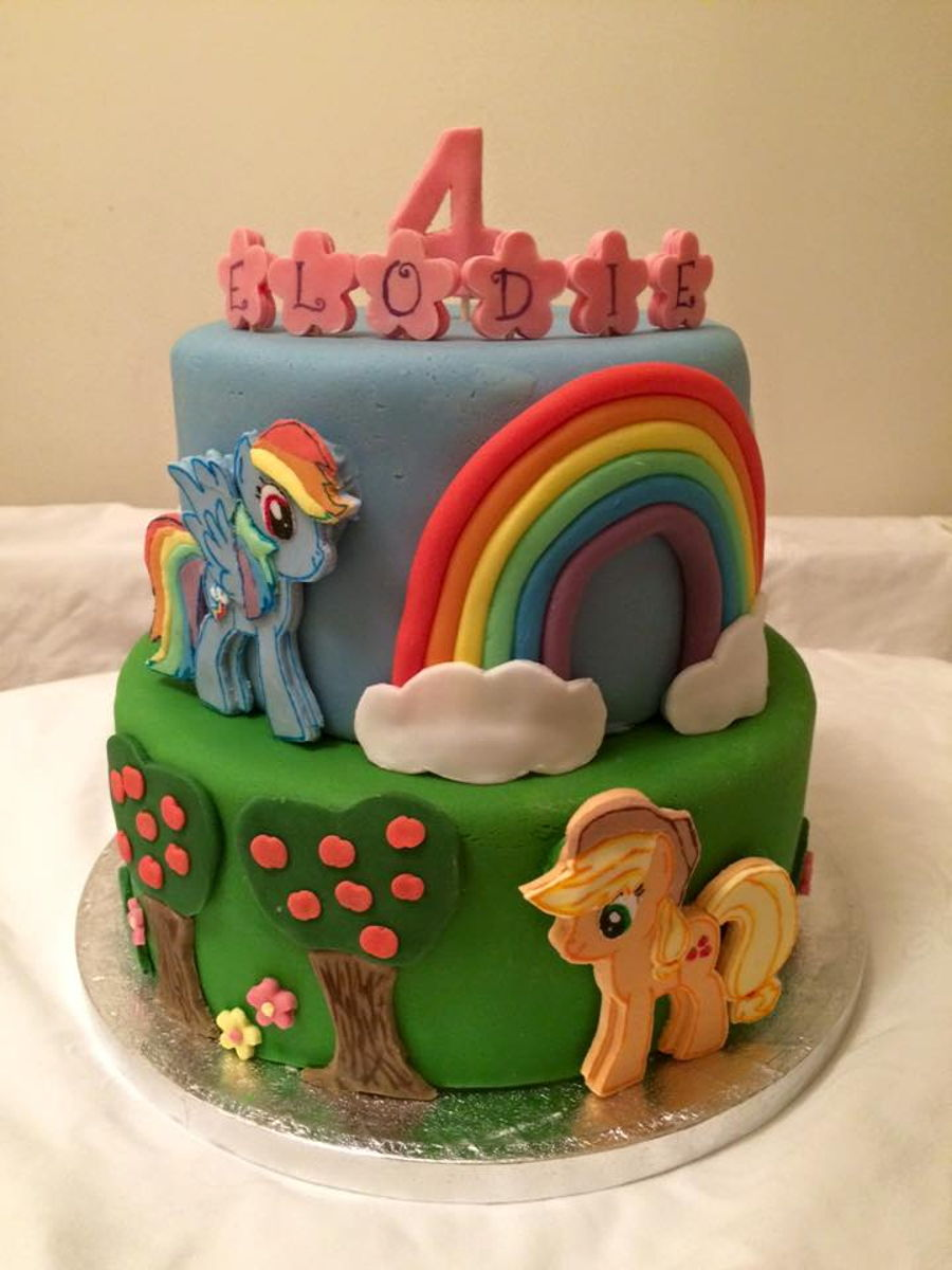 my little pony cake  cakecentral