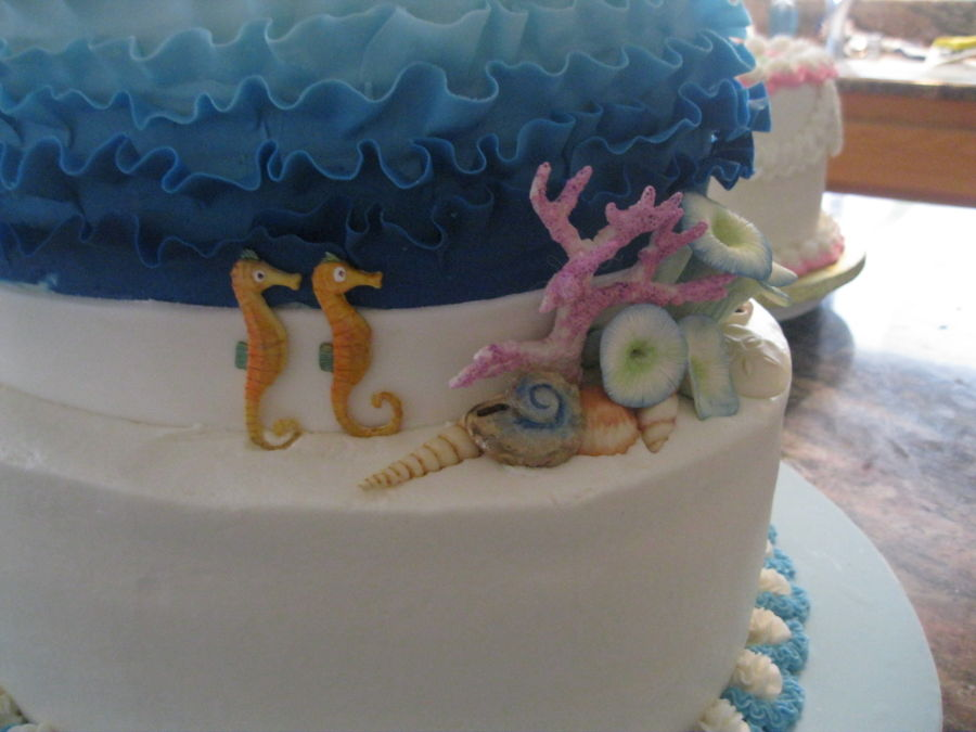 noah 39 s ark baby shower cake