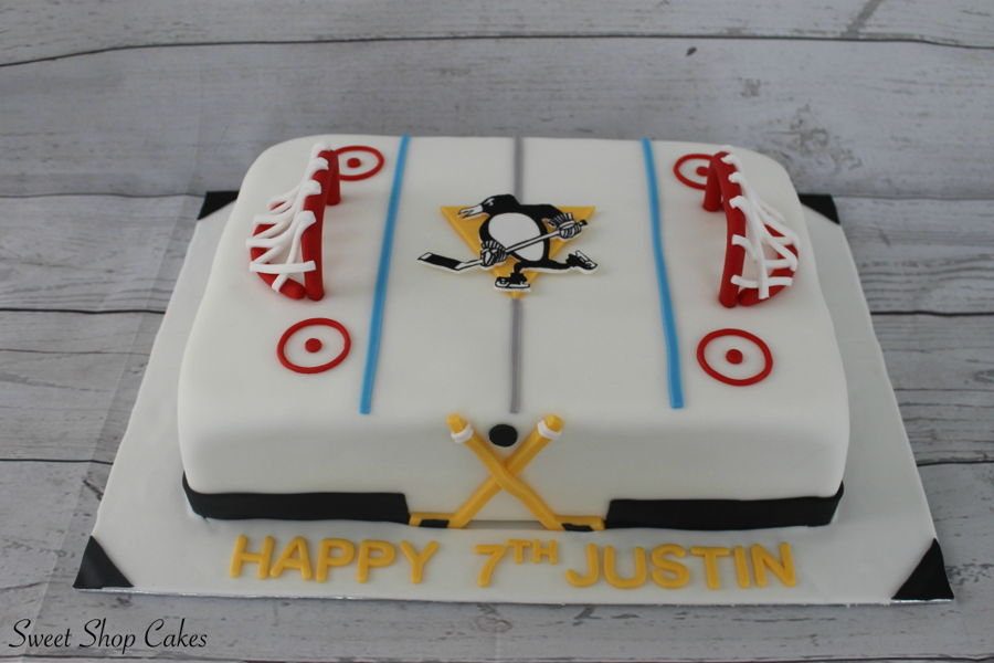 Pittsburgh Penguins Birthday Cake Cakecentral