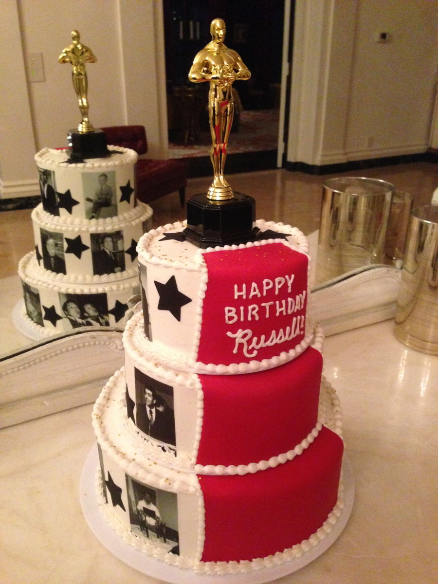 Red Carpet 50th Birthday Cakecentral Com