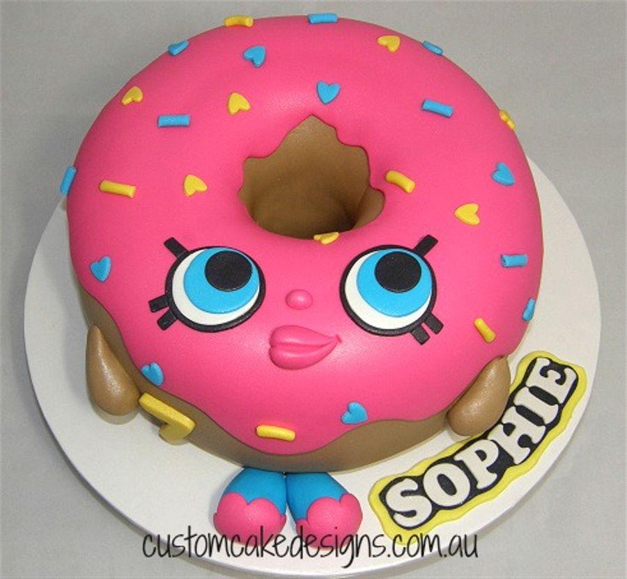 Shopkins D'lish Donut Cake - CakeCentral.com
