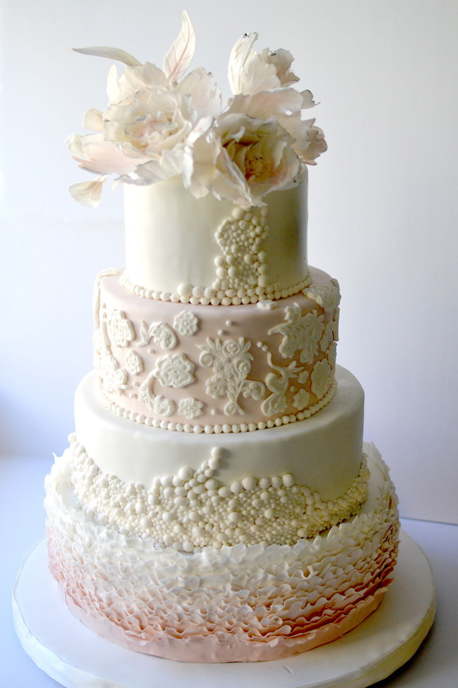 best wedding cakes for summer summer wedding cake cakecentral 11540