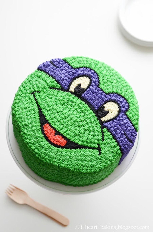 Turtle Layer Cake