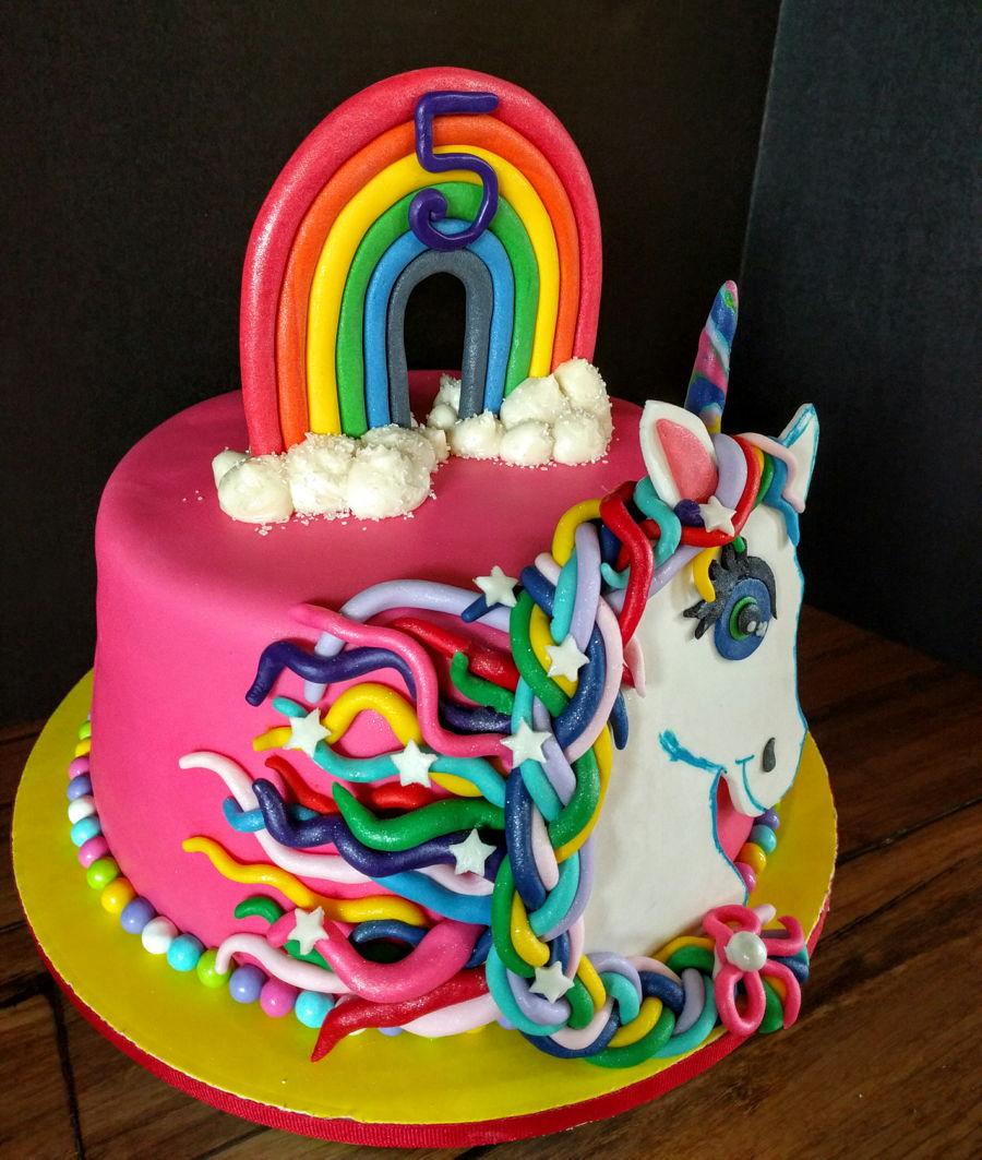 Awe Inspiring Unicorn Cake Cakecentral Com Funny Birthday Cards Online Alyptdamsfinfo