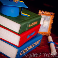Book Cakes!   In honor of back to school, here are my book cakes! Thanks for looking!