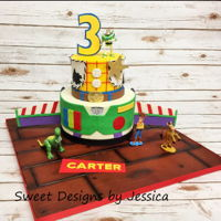 Carter's 3Rd   Toy Story themed 3rd bday