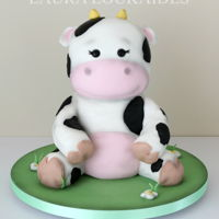 Cute Cow Cake Cleo the Toy Cow