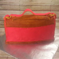 Elegant Purse Handbag Cake Elegant Purse Handbag Cake for a Special Lady.