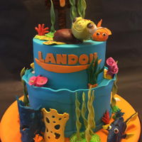 Finding Nemo Cake for Icing Smiles