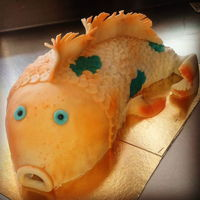 Fish Cake 3d sculpted fish cake