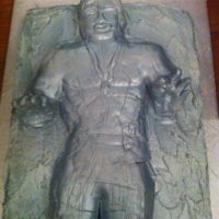 Han Solo In Carbonite   Star Wars birthday