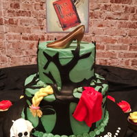 Into The Woods I made this cake for the Sooner Theatre in Norman, Oklahoma's cast party for Into the Woods. This Sondheim lyrical masterpiece mashes...