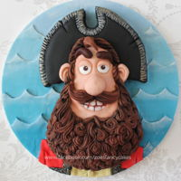 Pirate Captain Cake How to make the Pirate Captain as a cake :) -