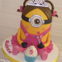 Princess Minion   for a little 5-year-old princess