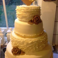 Rustic Wedding Cake rustic fondant wedding cake 14'' 10'' 8'' 6''