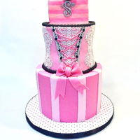 Victoria's Secret Bridal Shower Cake Victoria's Secret Bridal shower cake
